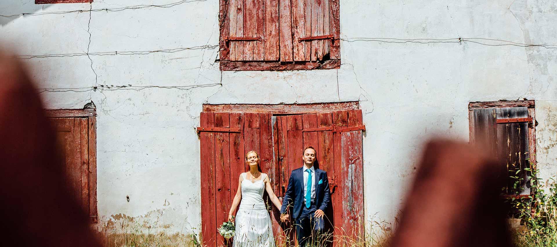photo du mariage Sabine et François