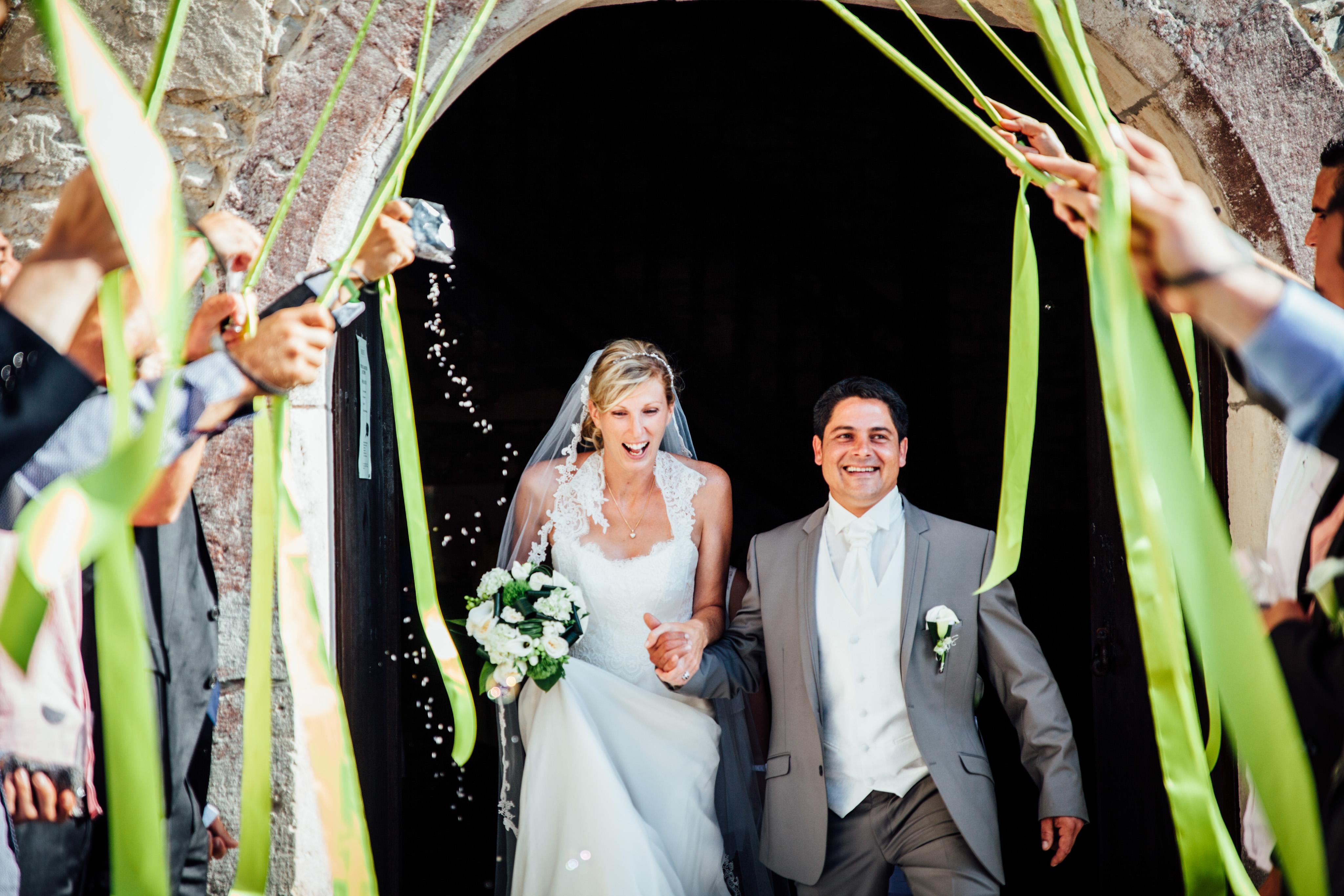 photo du mariage Marie & Benoit